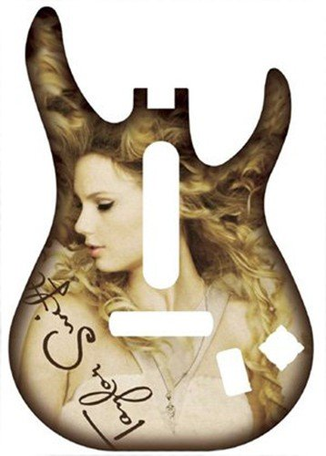 Guitar Hero 5: Band Hero Taylor Swift Guitar Faceplate Wii