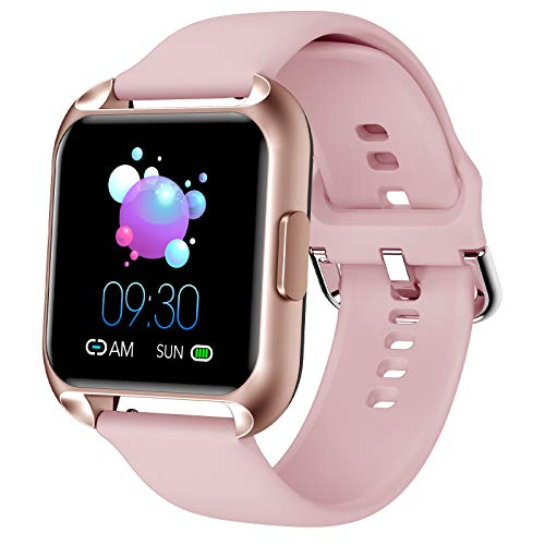 MAXTOP Smart Watch Compatible iPhone Android Phones Waterp...