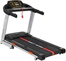 Welcare MAXPRO PTM405I 2HP (4 HP Peak) Motorized Auto Incline Folding Treadmill with LCD Display, Soft Cushion and...