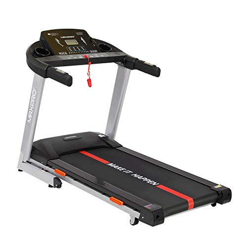 Welcare MAXPRO PTM405I 2HP (4 HP Peak) Motorized Auto Incline Folding Treadmill with LCD Display, Soft Cushion and Mobile Phone...