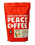 Peace Coffee Tree Hugger Signature Blend, Dark Roast (Nicaragua, Guatemala and Honduras Origins) Organic Fair Trade Coffee, Ground 5lb. Bag