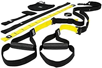 Suspension Trainer Kit, Lightest, Leanest Suspension Trainer Ever - Perfect for Travel and Working Out Indoors & Outdoors