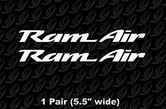 Vardoni Creations Pontiac Trans Am WS6 RAM AIR Vinyl Decals