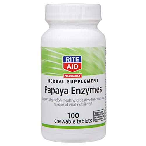 Rite Aid Papaya Enzymes Tablets - 100 ct