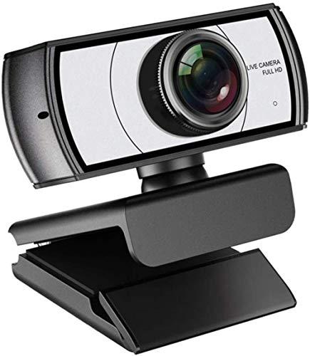 LYYJIAJU 1080P Full HD PC Skype Webcam met Microfoon, Video bellen en opnemen voor Computer Laptop Desktop, Plug en USB Camera YouTube