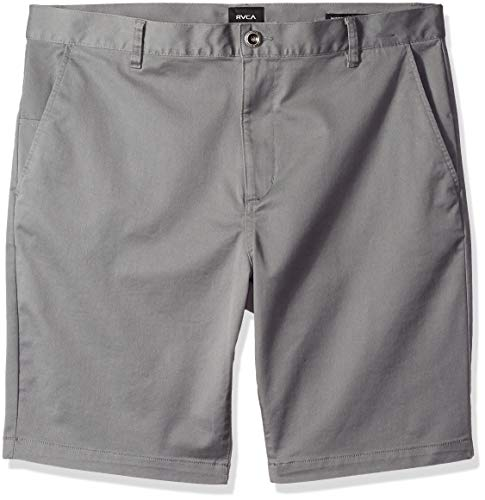 RVCA Herren Stretch Chino Pant Unterhose, Rauch/Grau, 54