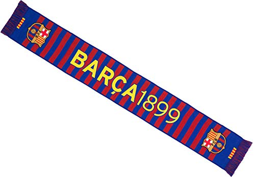FC Barcelona Echarpe FCB - Collection Officielle Taille 140