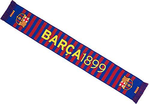 FC Barcelona Bufanda FCB – Colección oficial talla 140 cm