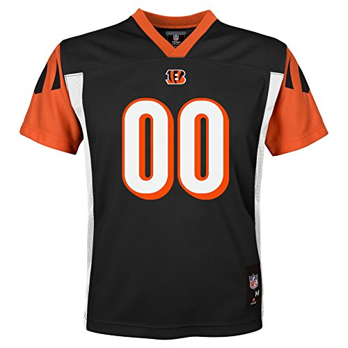 NFL Kids & Youth Team Color Fashion Jersey, Cincinnati Bengals, Youth Medium(10-12)
