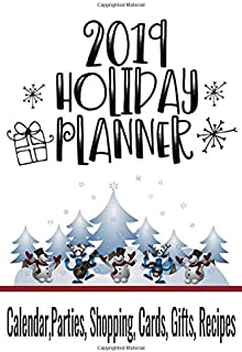 2019 Holiday Planner: 6