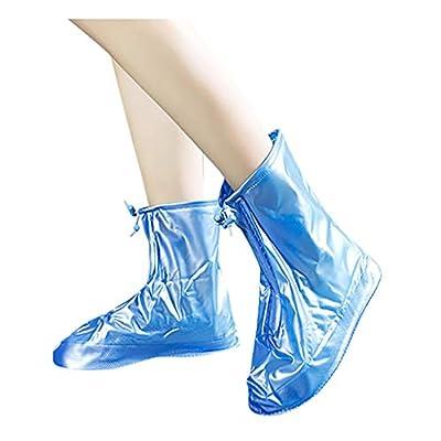 Waterproof Shoes Boot Cover Zipper Rain Shoe Co...