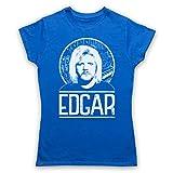 Photo de The Guns Of Brixton Tangerine Edgar Froese Tribute T-Shirt des Femmes, Bleu, Small