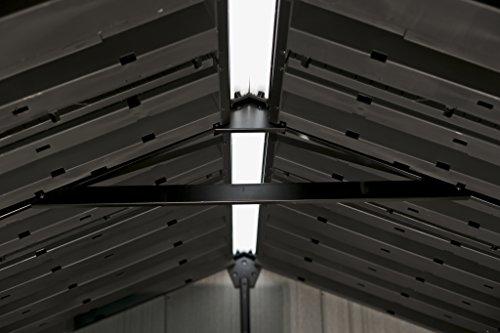 keter oakland is steel reinforced