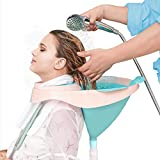 Shampoo Basin Portable Hair Washing Sink Upright Shampoo Bowl Foldable Wash Basin Home Hai...