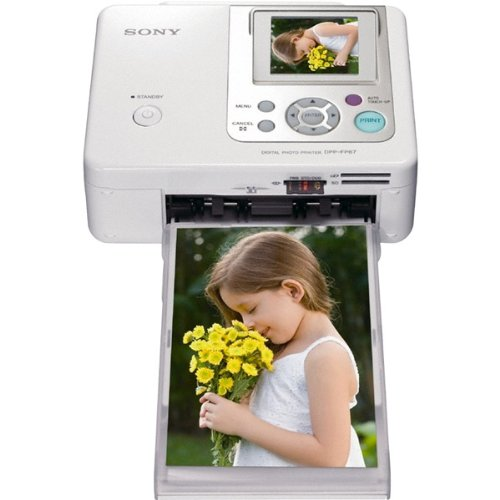 For Sale! Sony DPP-FP67 Picture Station Photo Printer with Built-in 2.4-Inch LCD Tilt-Adjustable Dis...