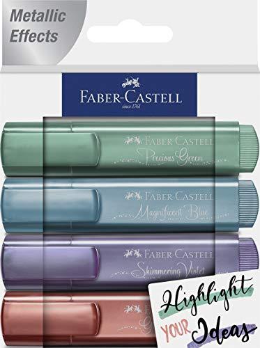 Pack 4 textliner 46 metálicos. Cs. Nuevos colores: 39, 47, 73 y 78. Presentación cs = creative studio