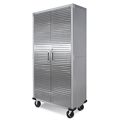 "Seville Classics Cabinet Storage, 36"" W x 18"" D, Granite Gray from Seville Classics"