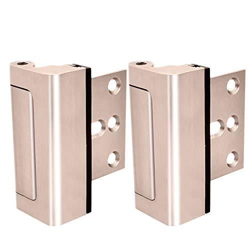 Home Security Türschloss, einfach zu installieren und zu verwenden, kindersicher, 12 x stärker als ein herkömmlicher Bolzenriegel
