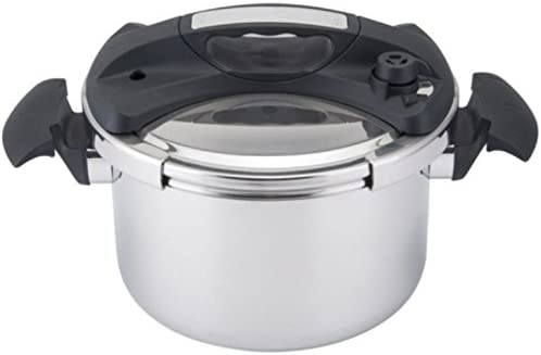 wholesale Automatic Self Locking 9.5-QT new arrival Pressure Cooker Olla De Presion W/Replaceable Sealing Gasket 18/10 Stainless lowest Steel sale
