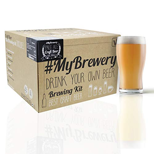 #Cervezanía Kit per Fare la Birra Artigianale. Stile Pale Ale. 5 Litri. Malto macinato e Luppolo Fresco.