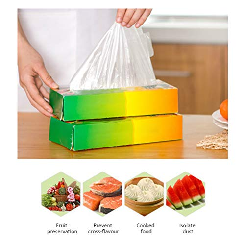 NOENNULL vershoudzak voor het afsluiten, type vest, levensmiddelen, opbergtas voor sandwich, groenten en fruit, food preservation bag