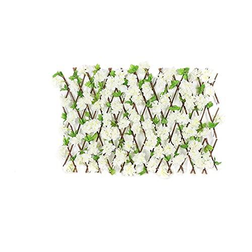 AZYVv Seto Plantas Artificiales Exterior Seto Artificial Seto Artificial Hiedra Valla De Ocultacion Jardin Valla De Privacidad para Hogar Escalera Ventana Balcón Valla Jardín Boda
