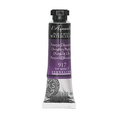 Sennelier l 'aquarelle–Tubos de acuarela de 10ml–dioxazina Purple 10ml tubo