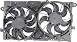 Evan-Fischer Radiator Cooling Fan for 13-16 Chevrolet Malibu 14-16 Impala Excluded Eco Models
