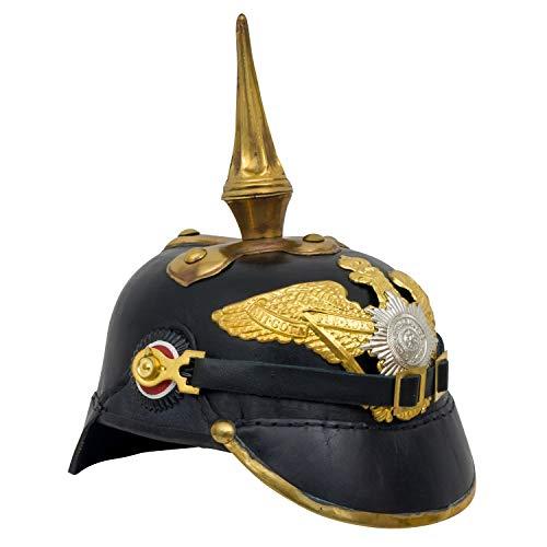 aubaho Pickelhaube Preussen Deutschland Helm Bayern Kaiserreich Adler Antik-Stil 29cm