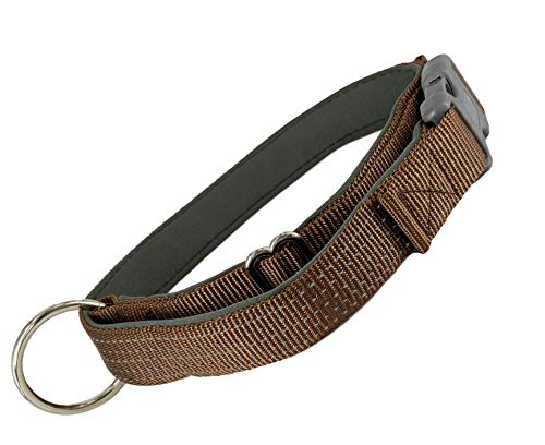 AVANZONA Halsband für Hunde, verstellbar, gepolstert, reflektierendes Nylon-Halsband für Hunde