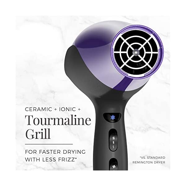 Beauty Shopping Remington D3190 Damage Protection Hair Dryer with Ceramic + Ionic + Tourmaline Technology,