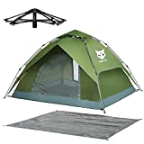 Night Cat Pop Up Tent 2 3 4 Man Camping Tent Waterproof Instant