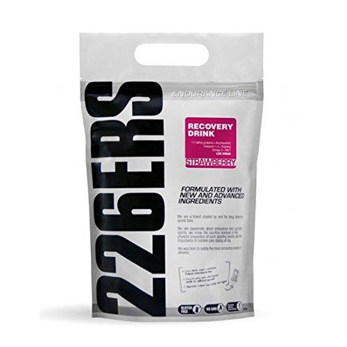 226ers Recovery Drink Recuperador Muscular Sabor Fresa - 1000 gr