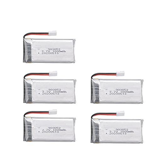 5 Pz 3.7v1800mah Batteria Ricaricabile Ai Polimeri Di Litio 903052, Per Ky601s Syma X5 X5s X5c X5sc X5sh X5sw M18 H5p H11d H11c Pezzi Di Ricambio Per Telecomando Drone
