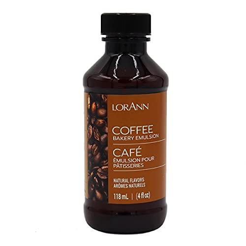 LorAnn Coffee Bakery Emulsion, 4 ounce bottle