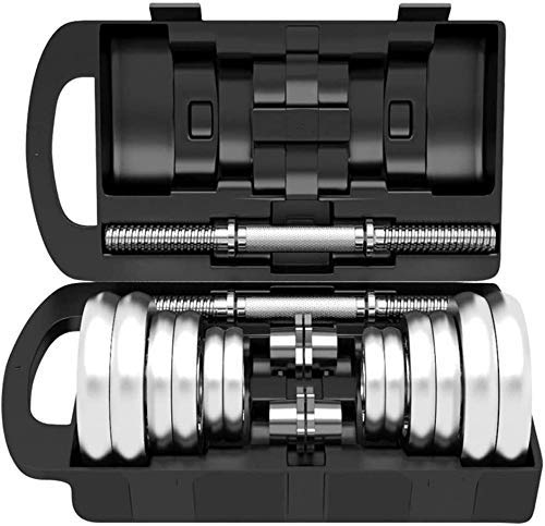N/Z Home Equipment Adjustable Dumbbell Hand Weight Barbell Barbell Connector for Gym Home Bodybuilding Training Dumbbells