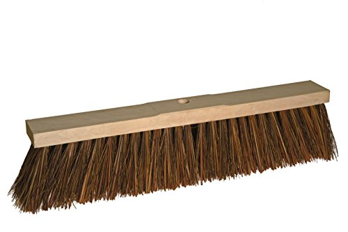 BawiTec Piassavabesen Piassava 32cm 40cm 60cm Besen Straßenbesen Naturbesen (40cm)