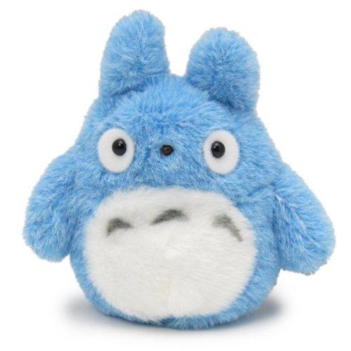 Beanbag Mein Nachbar Totoro (Ghibli) Funwari Otedama Stofftier Plüsch Figur Kuscheltier: Chu Totoro (Zuku) Blau 11 cm