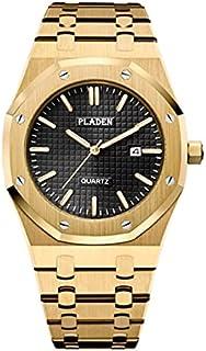 WIDZ - Quartz Watches - PLADEN New Sport Business Mens Watches Top Brand Luxury Full Steel Quartz Clock Waterproof Big Dia...