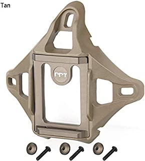 Canis Latran Tactical 3-Hole Skeleton NVG Mount Shroud for ACH/MICH/OPS-Core Fast/Crye AirFrame Helmet
