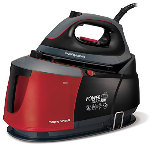 Morphy Richards Steam Generator Iron Power Steam Elite With Auto Clean And Safety Lock 332013 Steam Generator Red Black