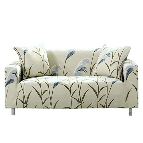 Ihoming Impreso Funda de sofá Estiramiento Funda de sofá Fundas de sofá para sofás