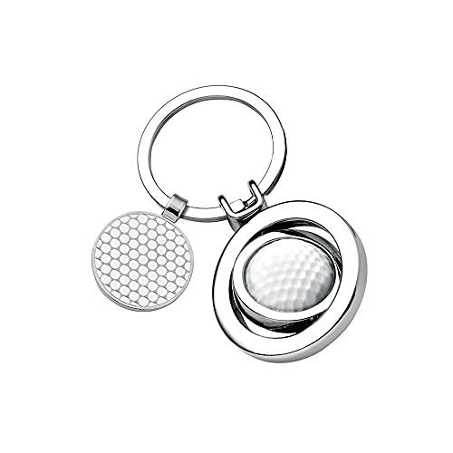 Schlüsselanhänger Golfball mit Gravur