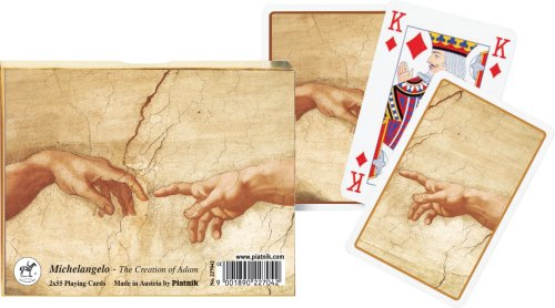 Piatnik 2270 - The Creation of Adam Michelangelo