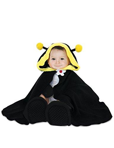 Rubie's-déguisement officiel - Rubie's- Déguisement pour bébé cape, chapeau, gants et chaussons Abeille - Taille Unique- 154682
