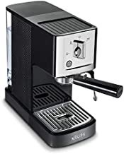 KRUPS XP344C51 Professional Coffee Maker Calvi Steam and Pump Compact Espresso Machine, 1-Liter, Black