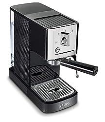 powerful KRUPS XP344C51 Professional Coffee Machine Calvi Steam and Pump Compact Espresso Machine, 1 liter, …