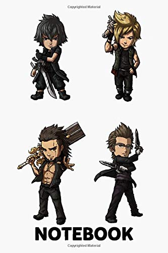 Final Fantasy Xv Notebook: (110 Pages, Lined, 6 x 9)