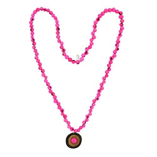 Collar de Acai Semillas, colgante de macauba + paxiubao, varios colores, Original...