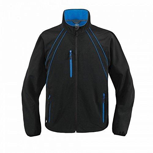 Stormtech - Veste Hydrofuge Coupe-Vent - Homme (M) (Noir/Bleu Roi)